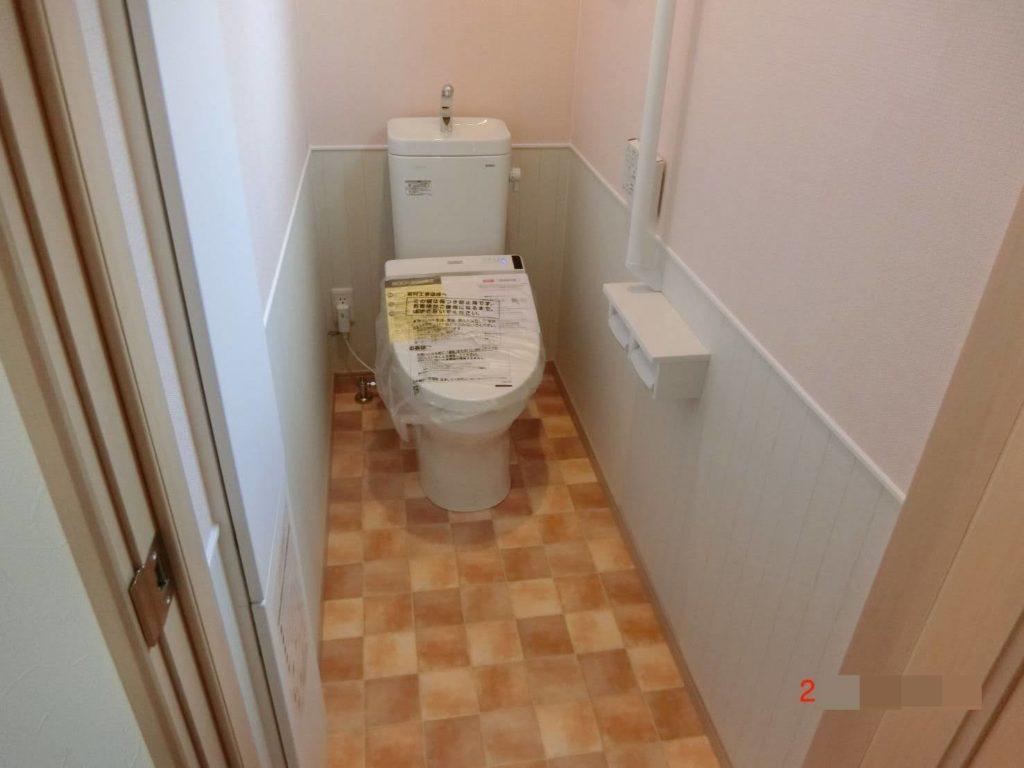 一条ブリアールトイレ